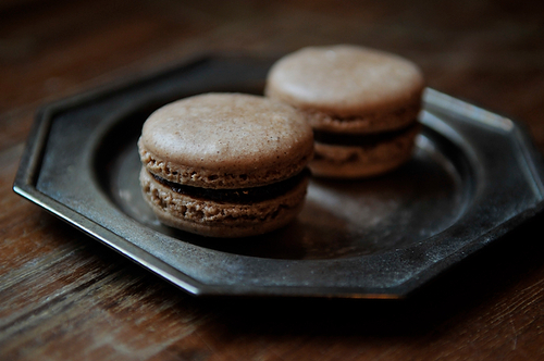 Oaxan Cinnamon Chocolate Macarons