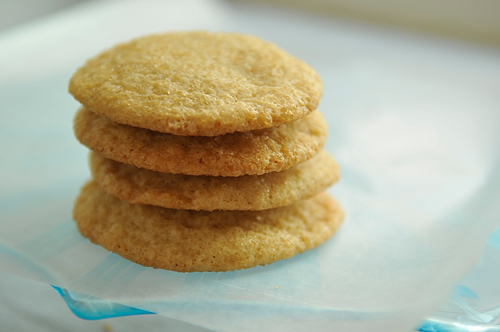 Chewy Sugar Cookies from Food52