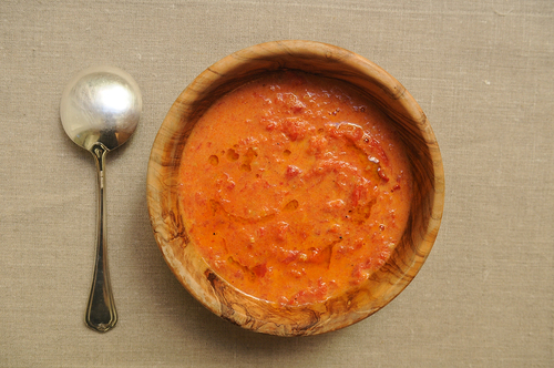 Cream of Roasted Tomato Soup from Food52