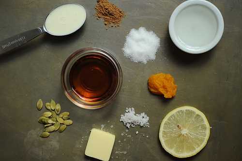 Salted Pumpkin Caramels