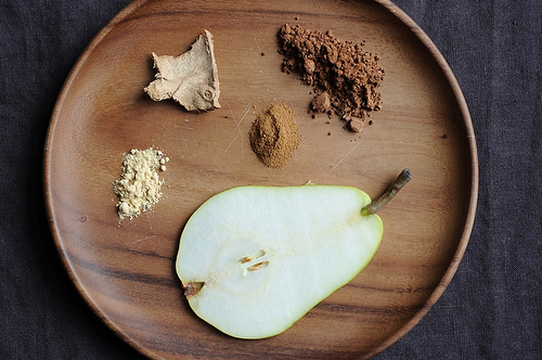 Cocoa Pear Crisps