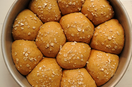 Heavenly Oatmeal-Molasses Rolls