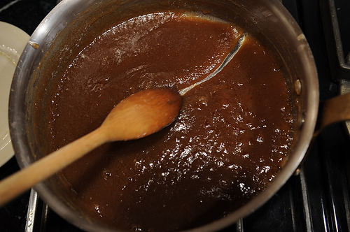 Coconut Cajeta & Chocolate Fondue