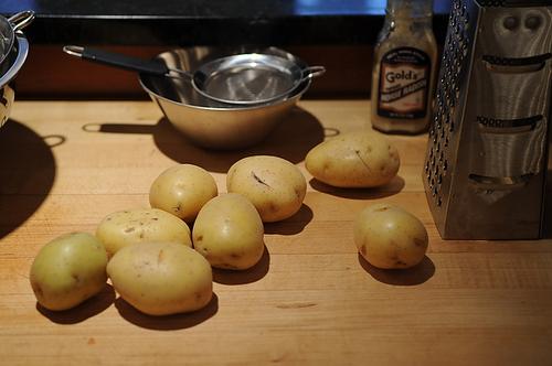 Horseradish Hash Browns