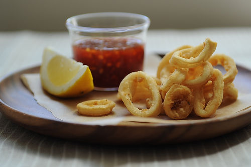 Sweet & Spicy Calamari