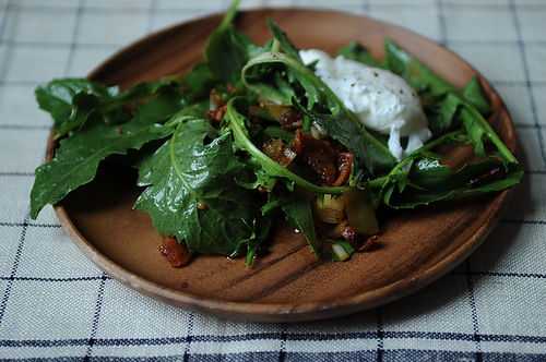 dandelion greens salad