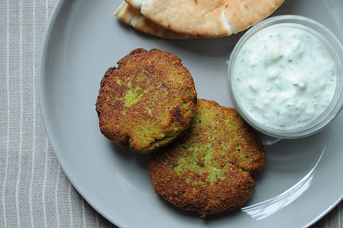 World's Easiest Falafel and Tzatziki Recipe on Food52