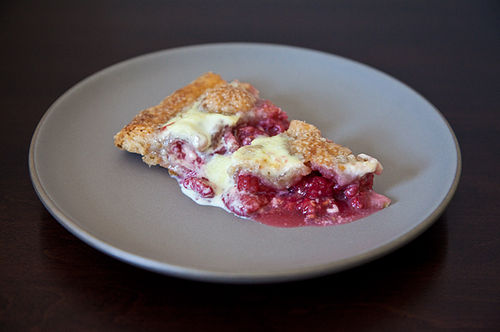 Raspberry Swamp Pie