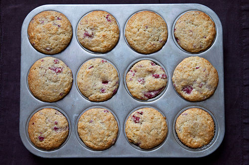 Simply Raspberry Muffins