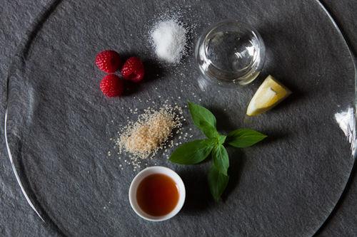 Raspberry Acetosa Mojito
