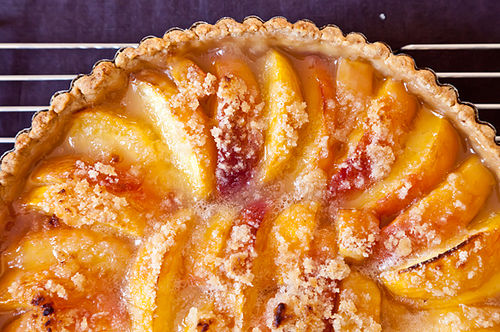 Peach Tart Recipe on Food52