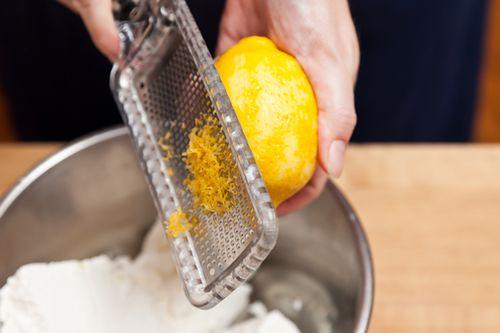Lemony Cheese Blintzes