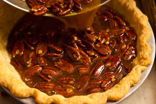 Spiced Maple Pecan Pie With Star Anise Recipe — Dishmaps