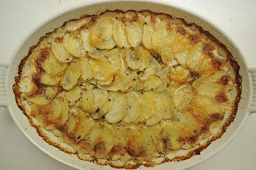 Potato Leek Au Gratin