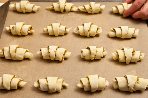 Pumpkin Rugelach with Sage and Walnuts