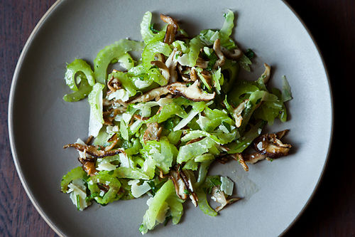 Italian Mushroom and Celery Salad from Food52