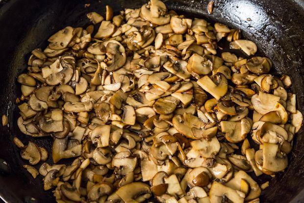 Leek, Fennel and Mushroom Galette