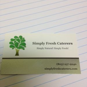 Simply Fresh Caterers