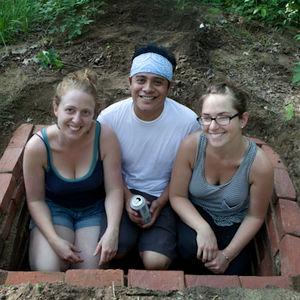 Sara, Neftali & Sally